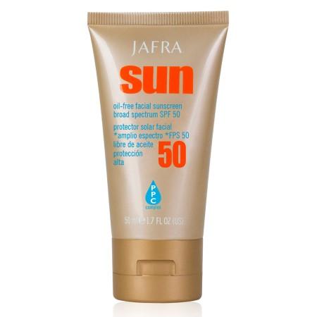 Przeciwsłoneczny krem do twarzy bez oleju SPF 50